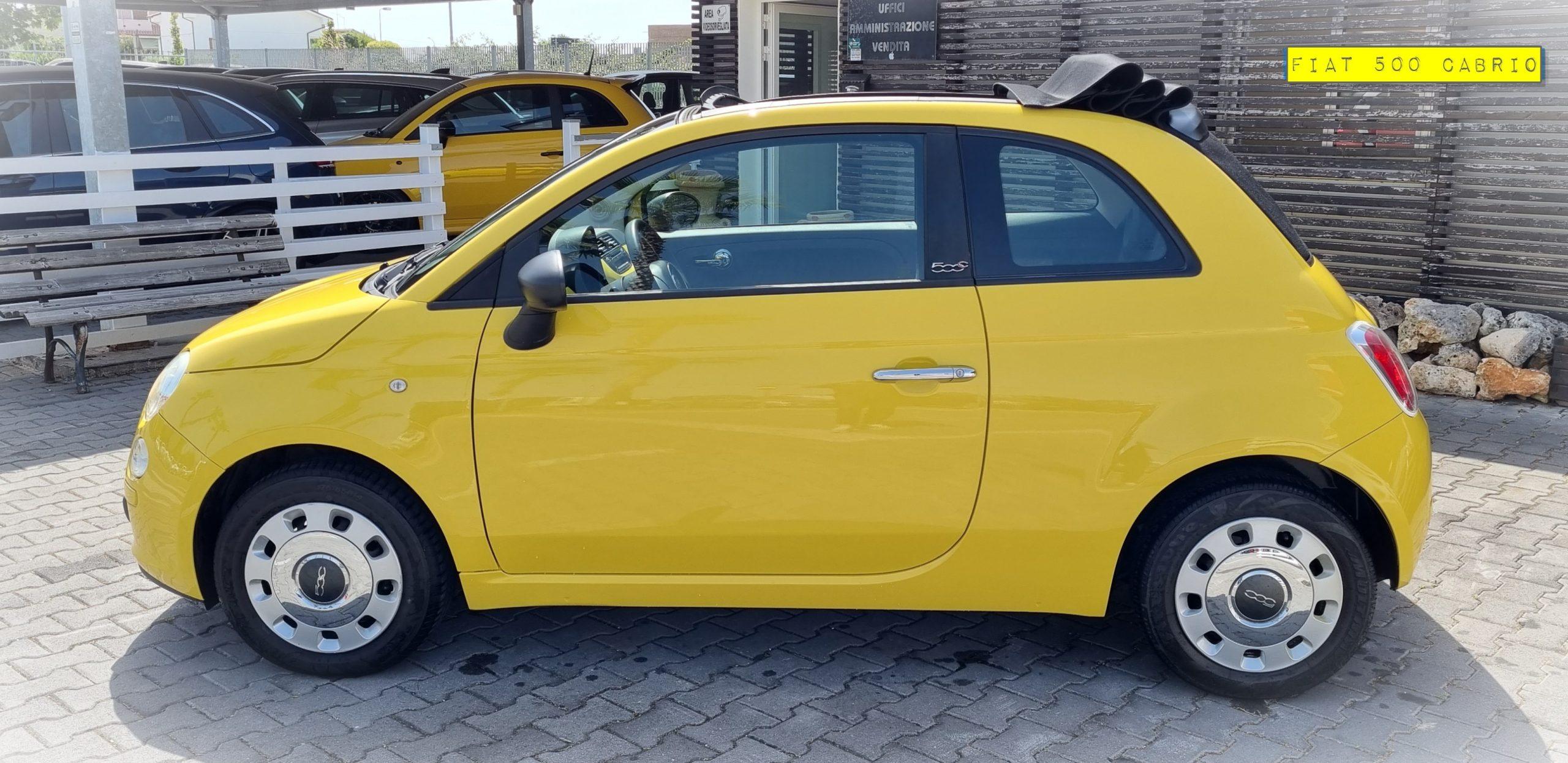 FIAT 500 C – Cabrio